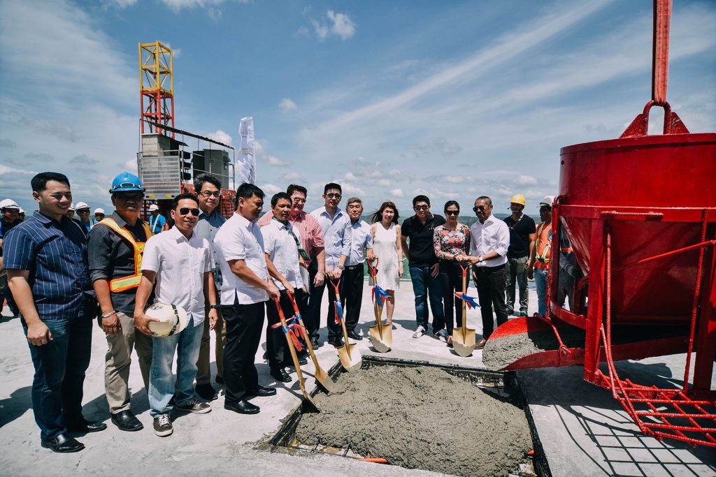 Topping-off Ceremony