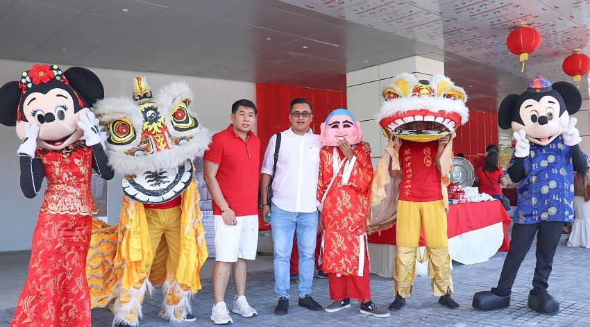 CNY Open House held at the Lobby of Aeon Towers