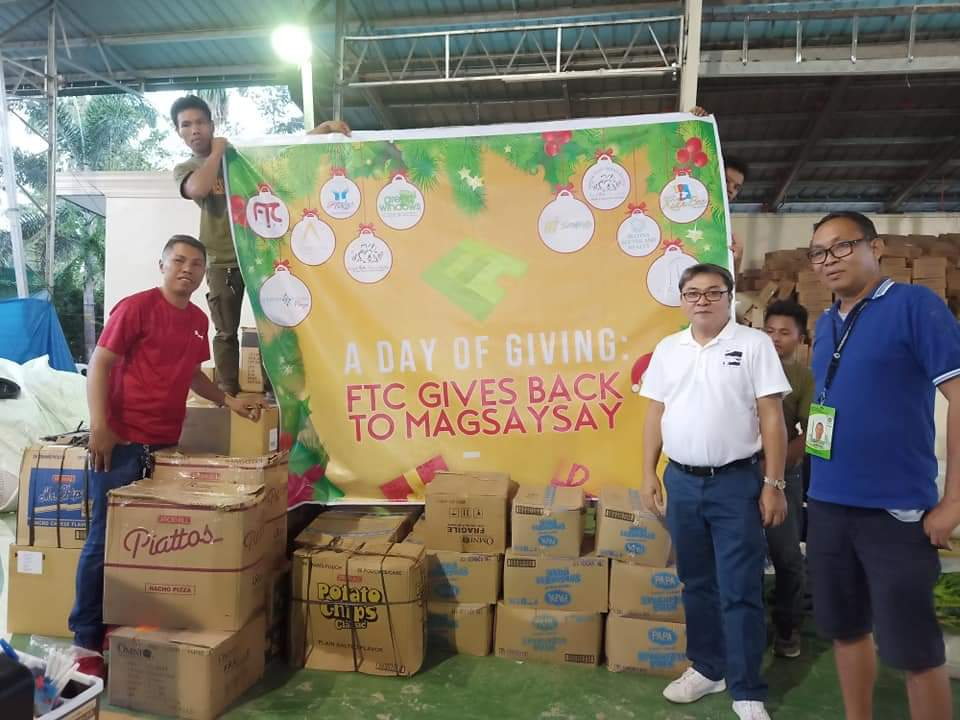 FTC Group of Companies Sends Love to Magsaysay