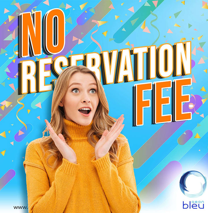 No Reservation Fee