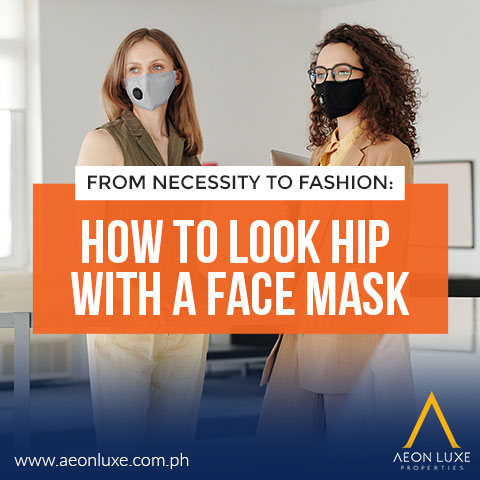 How To Look Hip With A Face Mask