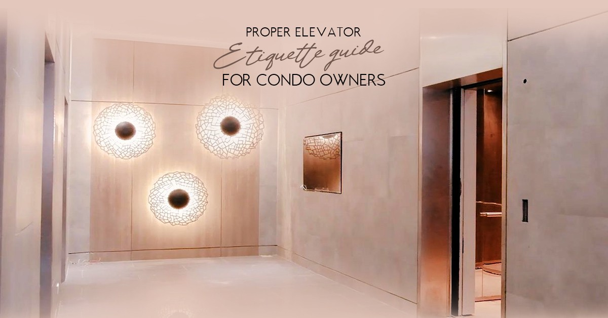 Proper Elevator Etiquette Guide For Condo Owners