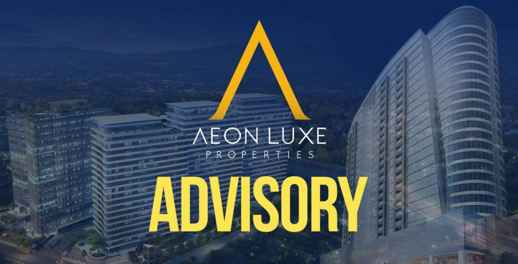 Safety Reminders for Visiting Clients & Guests at Aeon Towers